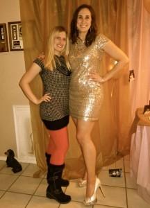 My dress, shoes & Fancy Nancy!