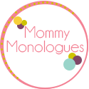 Mommy Monologues Button